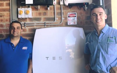 The Shoalhaven's first Tesla Powerwall