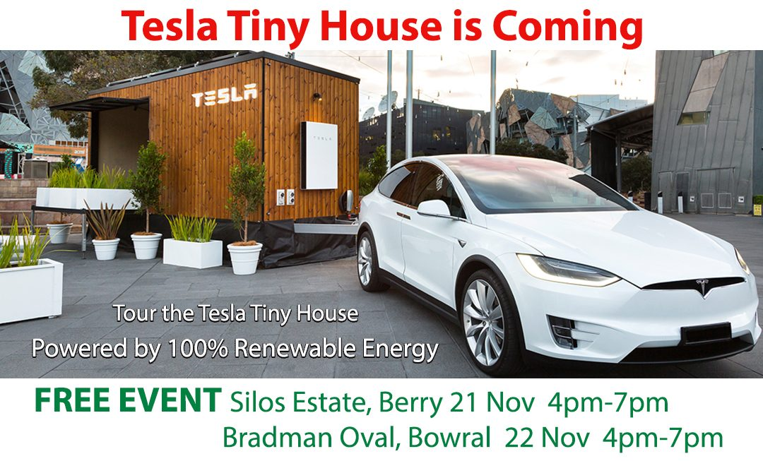 Tesla Tiny House is Coming