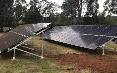 Rural Property Owners Secure Reliable Energy with Battery Power