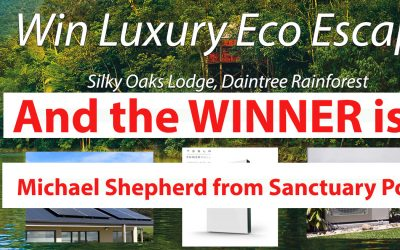 Luxury Eco Escape Winner Announced