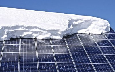 Solar Performance in Winter…