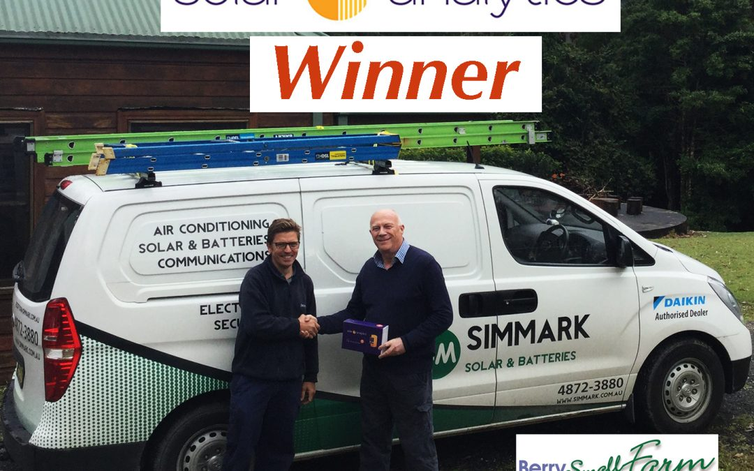 Simmark Solar Analytics Winner