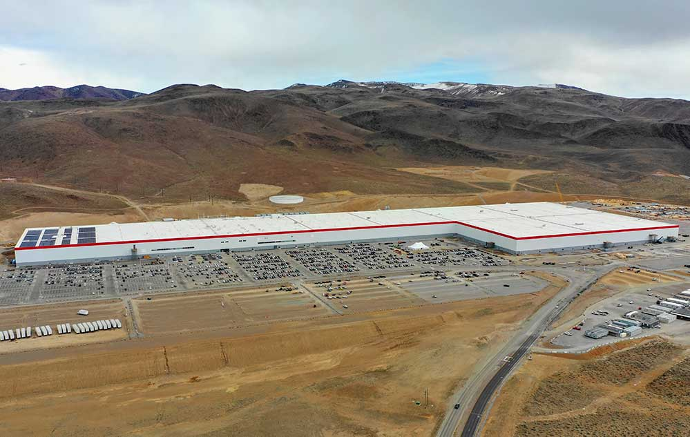 Simmark at Tesla Gigafactory 1
