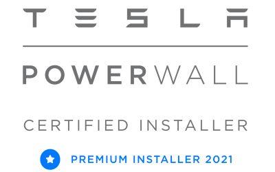 Simmark Named Tesla Powerwall 2 Premium Installer 2021
